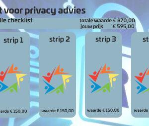 Strippenkaart voor privacy advies